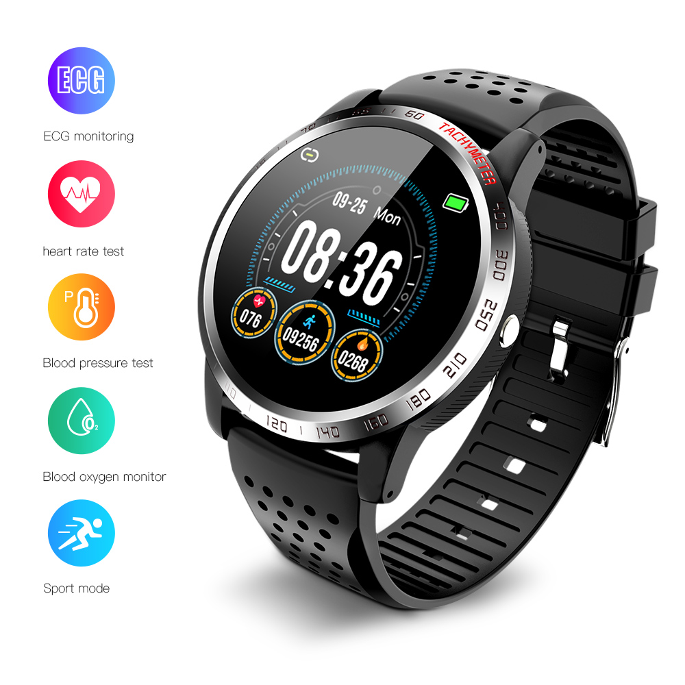 2020 Women Men Smart Watches ECG Test Heart Rate Monitoring Blood Pressure Blood Oxygen Sport Fitness Watch For Android Phone