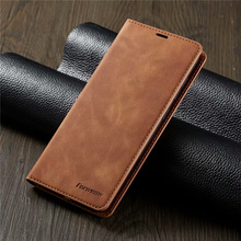 10piece/lot For Samsung Galaxy A70 Case FORWENW Magnetic Phone Cover Flip Leather Stand