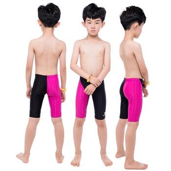 hong xing bai ya Swimming Trunks Industry Shark CHILDREN'S Swimming Trunks BOY'S Big Boy in Pants Short Industry Game Training