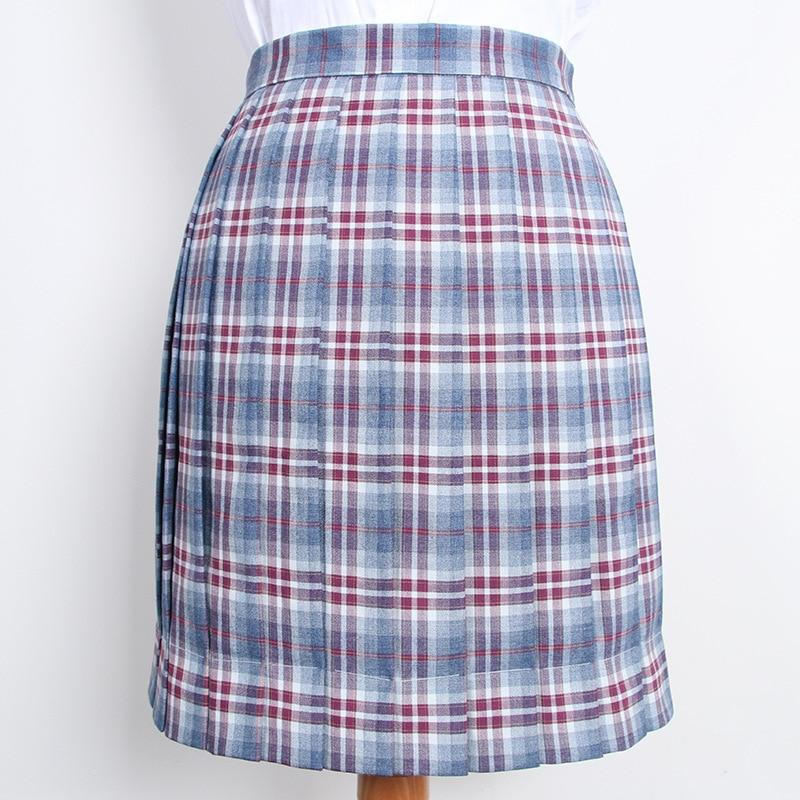High Waist Pleated Skirt Harajuku Skirts Female Japanese School Uniform Cosplay