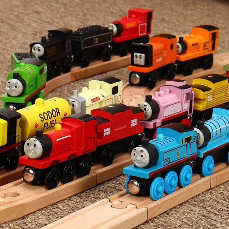 Thomas And Friend Ruth Gordon Henry Bell Mini Train Railway Accessories Classic Toys Wooden Materials Children's Toys Gifts