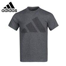 Original New Arrival  Adidas Three-Bar Tee Men's T-shirts short sleeve Sportswear