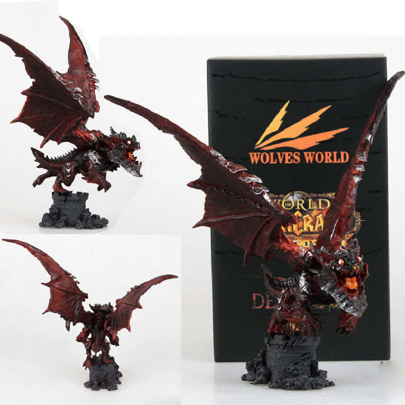 20 CM Cataclysm Neltharion Figure Blizzard World Of Warcraft Garage Game Anime Figures WOW Death Of Pterosaur Garage PVC Model