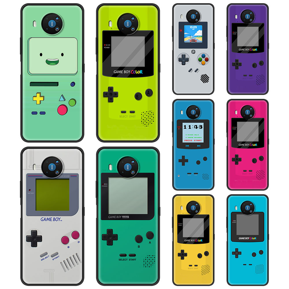 Gameboy Boy Game Silicone Case Funda For Nokia 2.2 2.3 3.2 4.2 7.2 1.3 5.3 8.3 5G 2.4 3.4 C3 C2 Tenen 1.4 5.4
