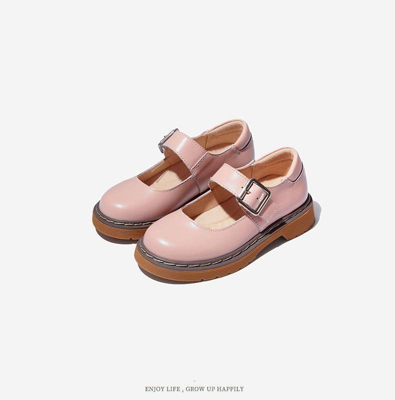 meninas sapatos de couro genuíno crianças sapatos