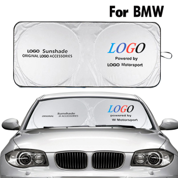 Car Windshield Sunshade for BMW M Logo Sun Shade Cover Auto Accessories Parasol Coche for X1 X2 X3 X4 X5 Z3 Z4 1 2 3 4 5 Series image
