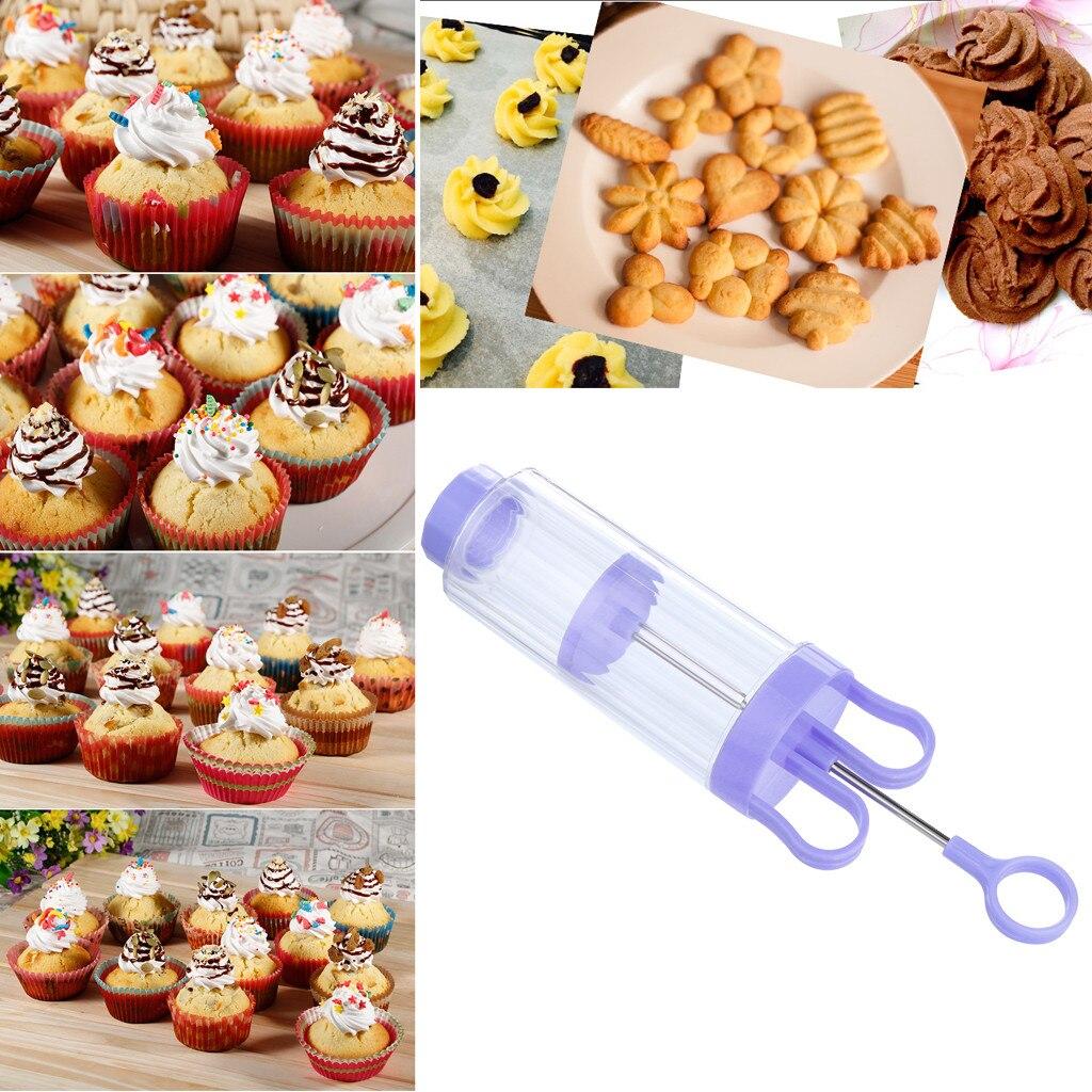 10 Сменная головка десерт жаккардовый пистолет давления машина для производства бисквитов Ручной пресс украшения кухонный набор пресс-форм