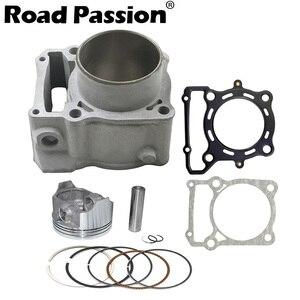 Image 1 - Road Passion Motorcycle Engine Cylinder + Piston + Rings 78mm (Cylinder diameter) For Kawasaki KLX250 1993 2018 KLX300 1996 2007