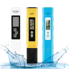 PH meter TDS EC Meter Digital LCD Water Testing Tools Pen Purity Filter Hydroponic Portable PPM Water Quality Detector
