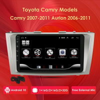 Black Color For Toyota Camry Aurion 2006 2011 Android 10 9 Inch Car Multimedia GPS Navigation Autoradio support DAB+ SWC Carplay
