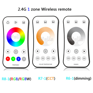 Image 2 - 2.4G RF wireless LED Touch Remote Single Color /Color temperature/RGB/RGBW  led Remote dimmer controller