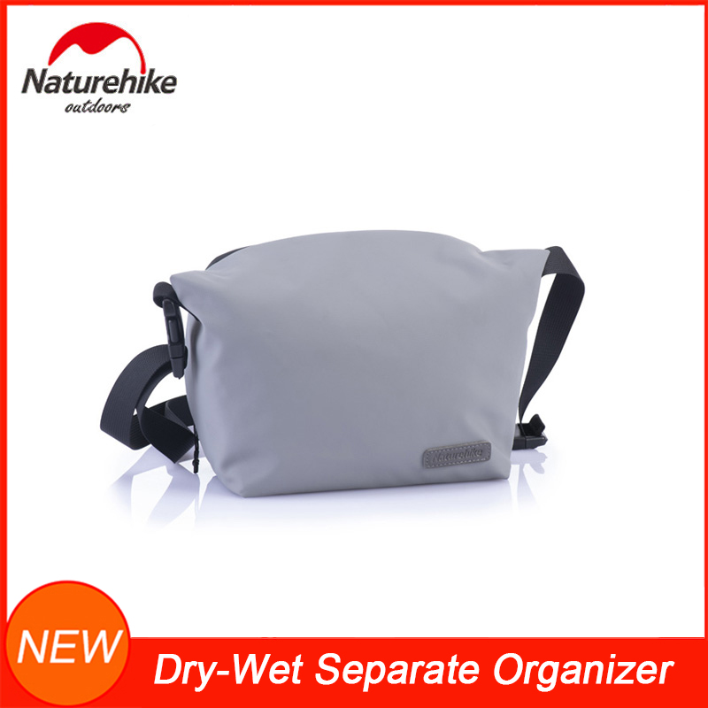 NatureHike Multi-functional Toiletries Travel Organizer Waterproof Hanging Cosmetic Bag Wash Bag With Removable Shoulder Strap