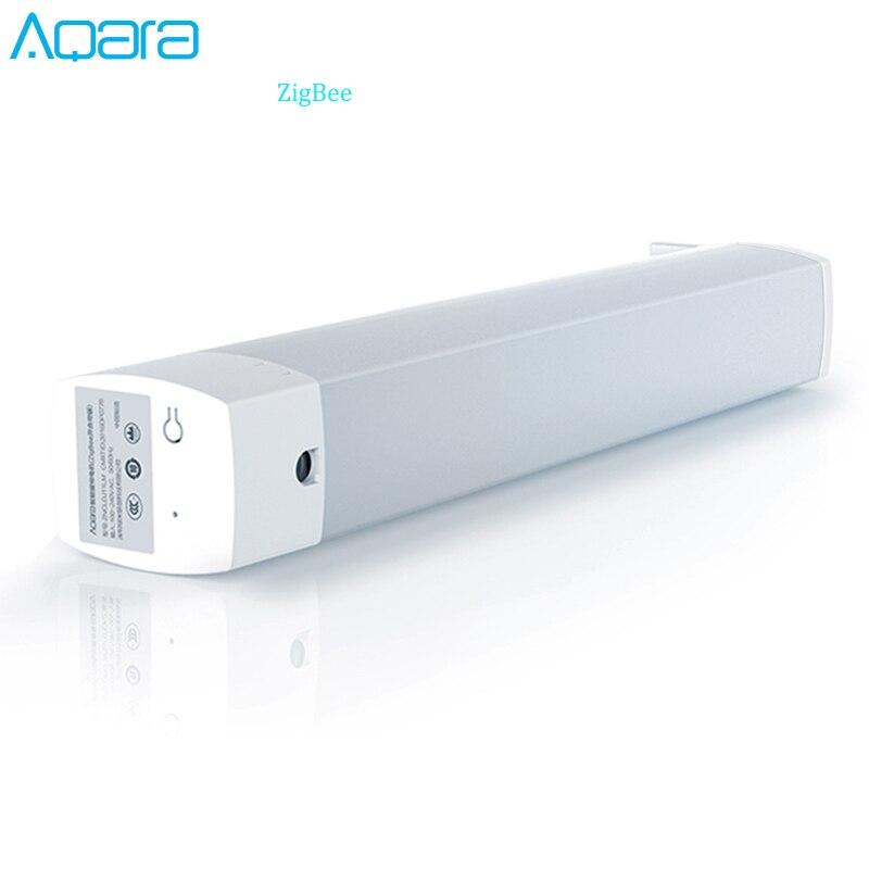 Aqara controlador de cortina casa inteligente inteligente do motor da cortina zigbee versão sistema casa inteligente para mi casa app controle telefone