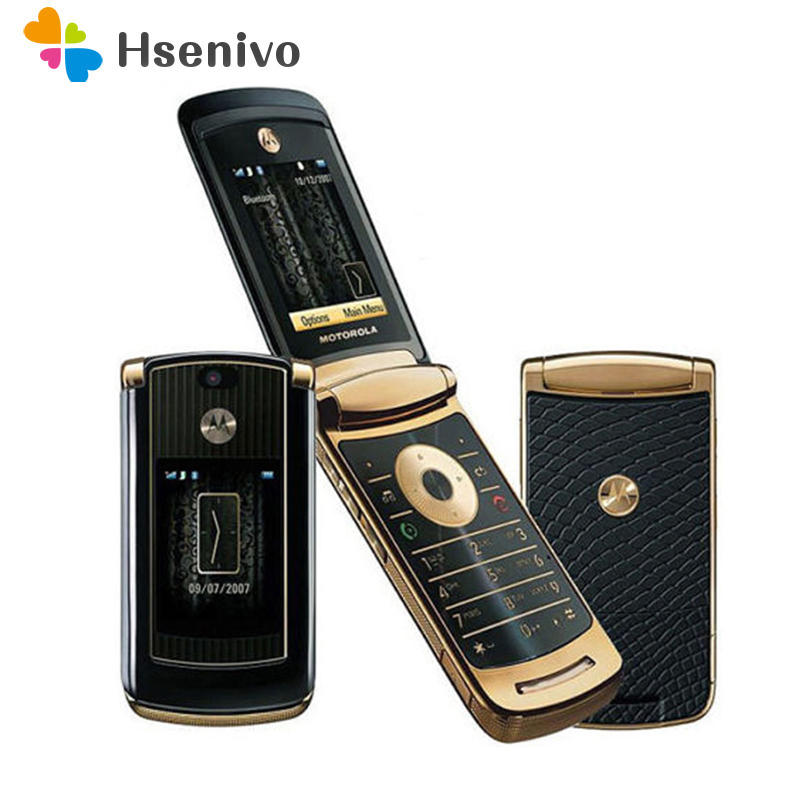 Refurbished Original Unlocked Motorola V8 Mobile Phone 2MP Cell Phone With 512M Or 2GB ROM Free Shipping