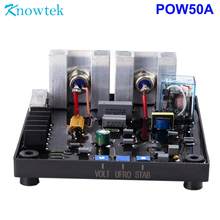 Universal AVR 35A Automatic voltage regulator POW50A for brush and brushless generator