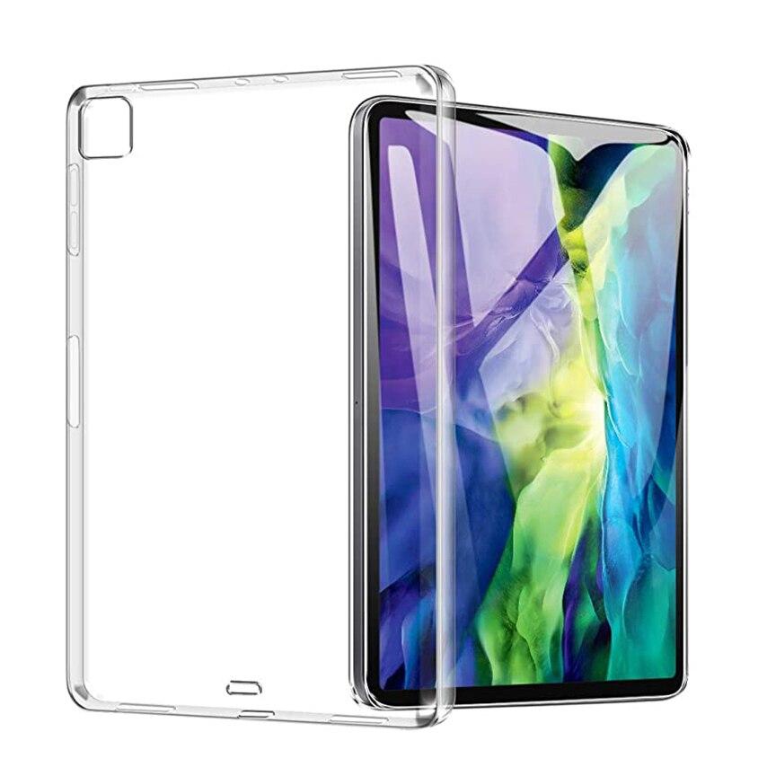 Coque pour iPad Pro 12.9 pouces 2020 2018 coque arrière résistante aux chocs coque de protection souple pour iPad Pro 2020 12 9 4th Gen