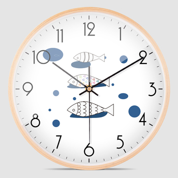 Decorative Bedroom Wall Clock Glass Large Modern Kitchen Wall Clocks Thick Watches For Kitchen Wall Home Decor Watch New II50BGZ