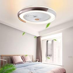 Ventilateur lampe Bluetooth APP smart ventilateur de plafond avec lumière télécommande ventilateurs avec lumières air cool chambre décor 50cm moderne