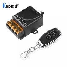 Kebidu 110V 240V 30A Relè Senza Fili RF Prodotti e Attrezzature smart per il Controllo Remoto Interruttore Trasmettitore + Ricevitore 433MHz telecomando
