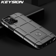 KEYSION Matte Rugged Shield Case For iPhone 11 Pro Max 2019 Shockproof Armor Back Cover for