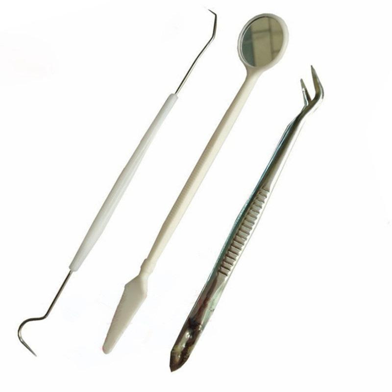 Набор для чистки полости рта, набор для чистки зубов, 3 шт.