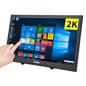 Monitor HD 10.1 inch 2K touch Screen portable 2HDMI IPS USB powered for PC ps4 raspberry pie win7 8 10 medical factory restaura