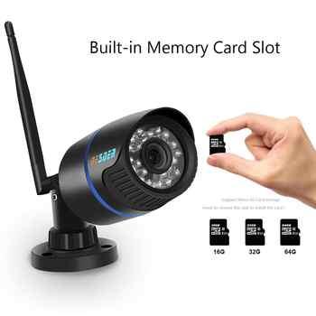 BESDER Yoosee Wifi Ip CCTV Camera 720P 960P 1080P Onvif P2P Black Bullet Security Street Ip Camera Wireless Support SD Card