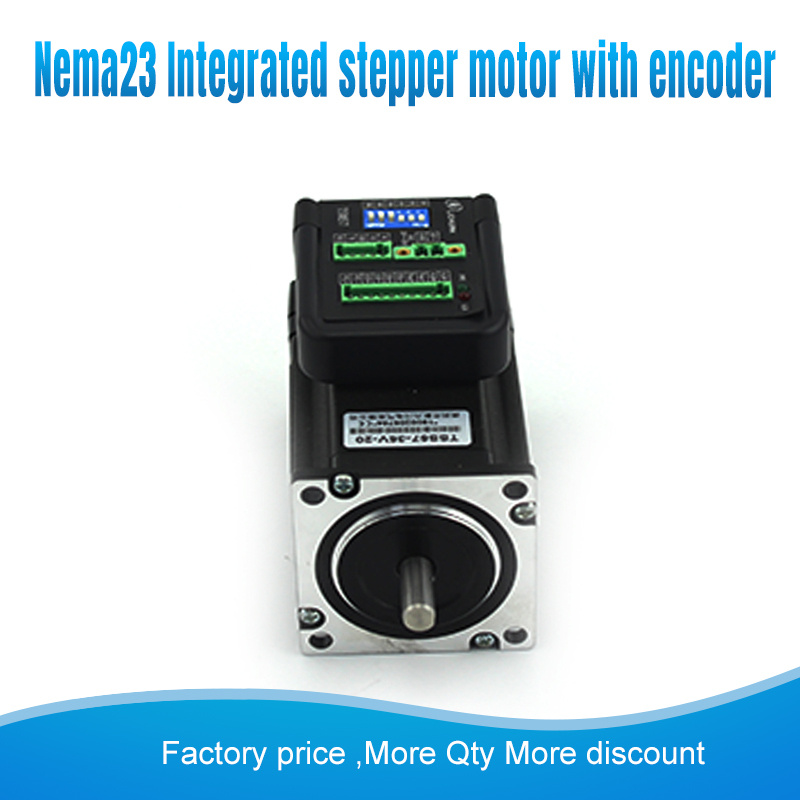 Nema23 57mm TSS57-36V-20  24V~40VAC 2N.M Integrated Servo closed loop stepper motor +driver for cnc machines