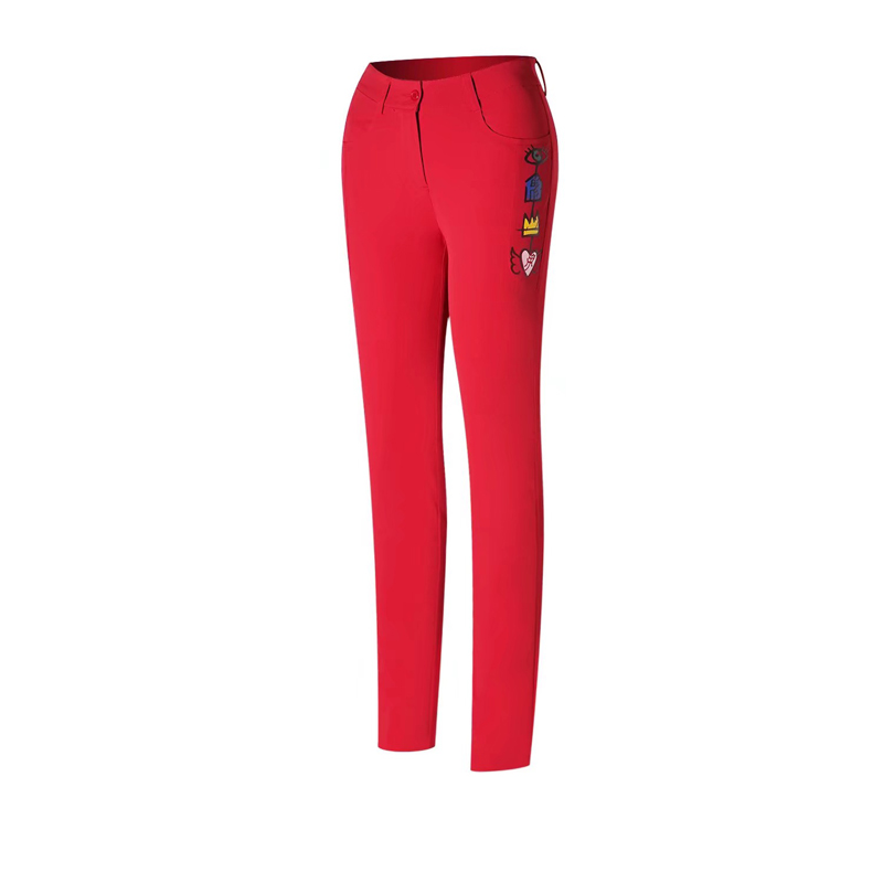 Swirling women's Pants Golf Pants Golf Spring and Autumn Wild Slim Pants 3 Colors Optional Free Shipping