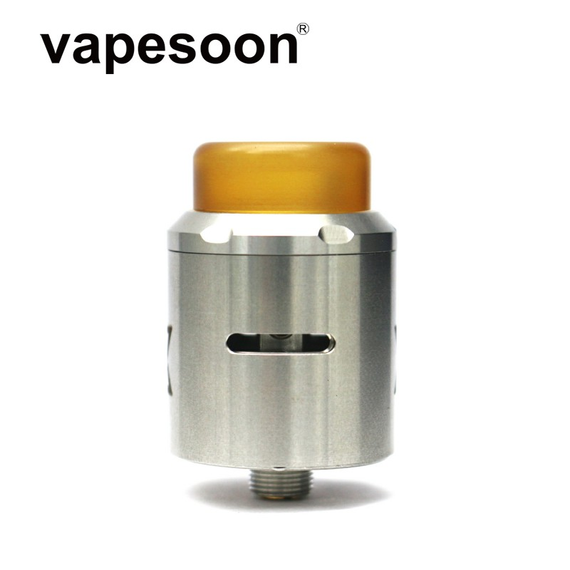 Vape Gadget Vget RDA Atomizer Vaporizer 24mm Adjustable Airflow Single Dual Coil For 510 Thread Mod Vs Reload / X S / 528 RDA