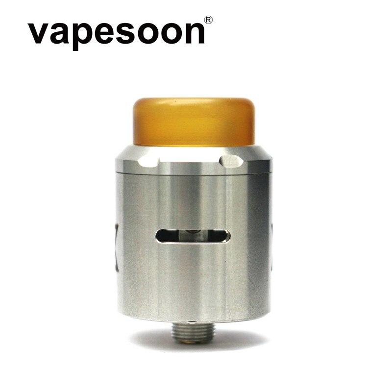 Vape Gadget Vget RDA atomiseur vaporisateur 24mm débit d'air réglable simple double bobine pour 510 fil Mod vs recharge/X S/528 RDA