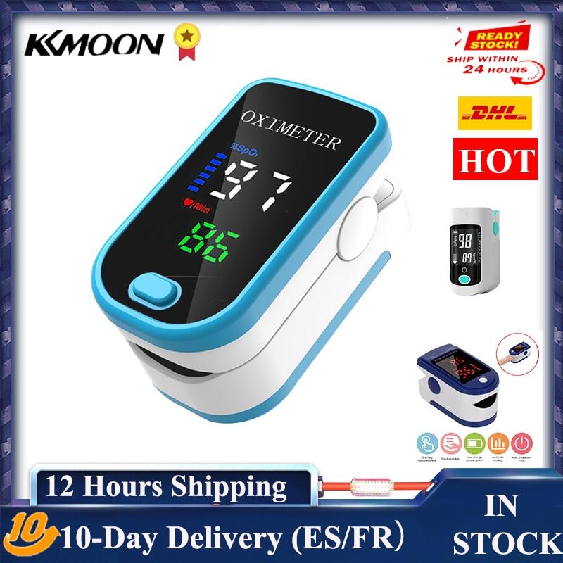 Oxímetro de pulso digital para a família, oxigênio, sangue, dedo, contador digital, LED, OLED, casa, pulsioximetro Pressão arterial    -