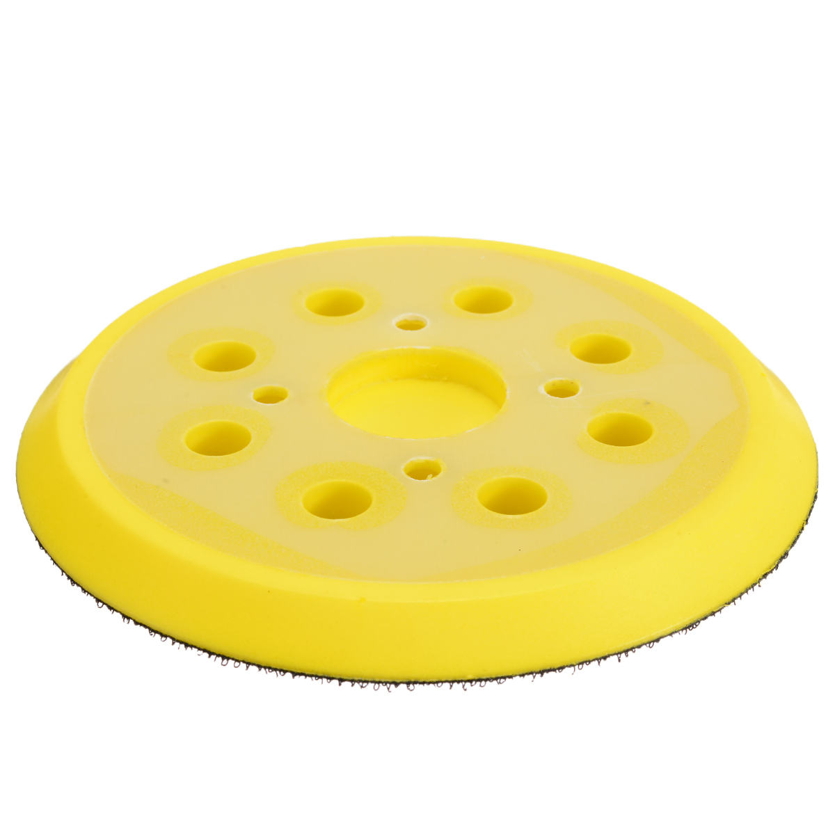 Image 3 - 5 Inch 8 Hole 125mm Back up Sanding Pad 4 Nails Hook and Loop Sander Backing Pad for Electric Grinder Power Tools Accessories-in Abrasive Tools from Tools