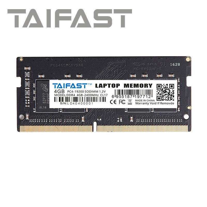 Taifast Laptop memory <font><b>ddr4</b></font> 4GB <font><b>8GB</b></font> 2400MHz 16GB 2666MHZ <font><b>ram</b></font> sodimm support <font><b>memoria</b></font> <font><b>ddr4</b></font> <font><b>notebook</b></font> Lifetime Warranty image