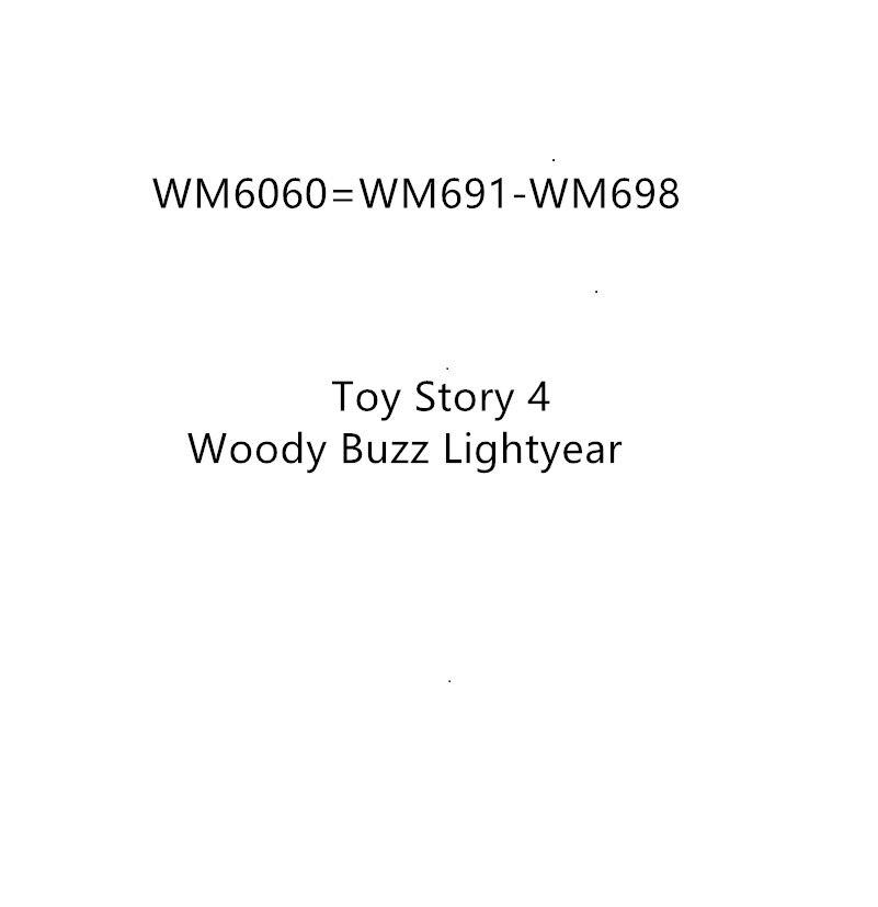Oyuncaklar ve Hobi Ürünleri'ten Bloklar'de 80 adet Anime Film Figürleri Oyuncak Hikayesi 4 Woody Buzz Lightyear Bo Peep Jessie Alien Bonnie Ördek Duke Caboom Blokları karikatür oyuncaklar'da  Grup 1