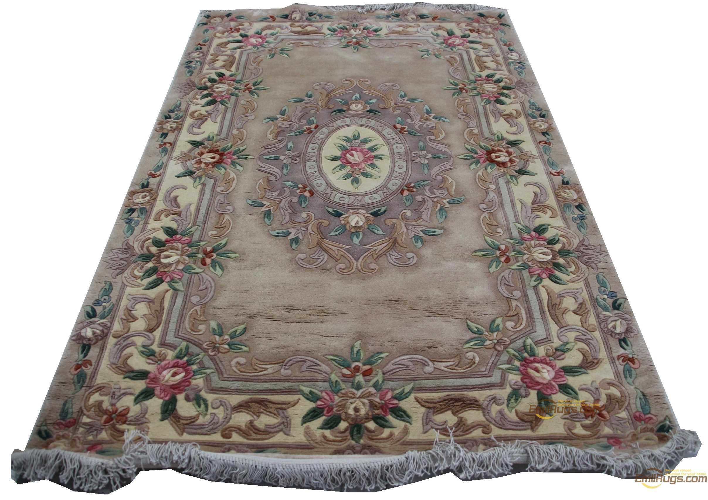 Soft Carpets For Living Room Hand-knotted Thick Plush Wool French  Rug Woven Antique Decor Runner Rug The Plant Design