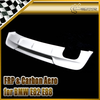 For BMW E82 E88 1 Series RIE Style Glass Fiber Rear Diffuser Bumper Splitter (Fit E82 2Dr E88 2Dr convertible - Sports Model) image
