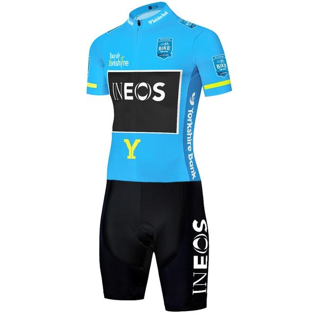 2020 equipe ineos ciclismo skinsuit men camisa de ciclismo granadier macacão corrida estrada skinsuit camisa completa ciclismo 4