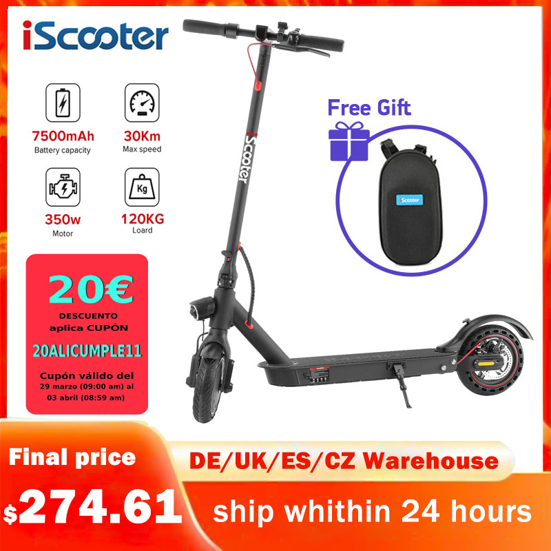 30KM/H Mini Adult Electric Scooter Smart Folding Electrical Hoverboard 350W Display Screen Electrico Kick E Scooters Patinete|Electric Scooters| - AliExpress