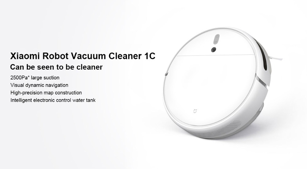 Hb406d8c4de3448c78f71d8b74afdcfe87 Xiaomi Mi Robot Vacuum Cleaner 1C Sweeping Mopping STYTJ01ZHM for Home Automatic Dust Sterilize Smart Planned Cleaner