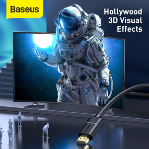Image 2 - Baseus HDMI כבל HDMI ל HDMI כבל HDMI 2.0 עבור אפל טלוויזיה PS4 ספליטר 3m 5m 10m כבל HDMI 4K 60Hz HDMI כבל HDR Vedio כבל