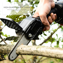 Chainsaw Handheld Rechargeable Powered Chainsaw Electric Protable Chainsaw Wood Cutter Pruning Shears Chainsaw for Xmas