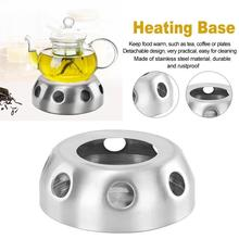 Teapot Warmer Candle Holder Teaware Heating-Base Home-Stove Round Detachable Coffee Practical