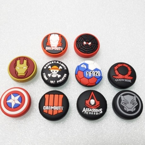 Avengers Call duty Thumb Stick Grip Cap Thumbstick Joystick Cover Case For Sony PS3 PS4 Slim Xbox One 360 Switch Pro Controller