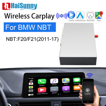 Retrofit Wireless Carplay For BMW NBT F20 F21 2011-2017 Support Navigation System Android Auto Rear Camera Siri Voice Car play image