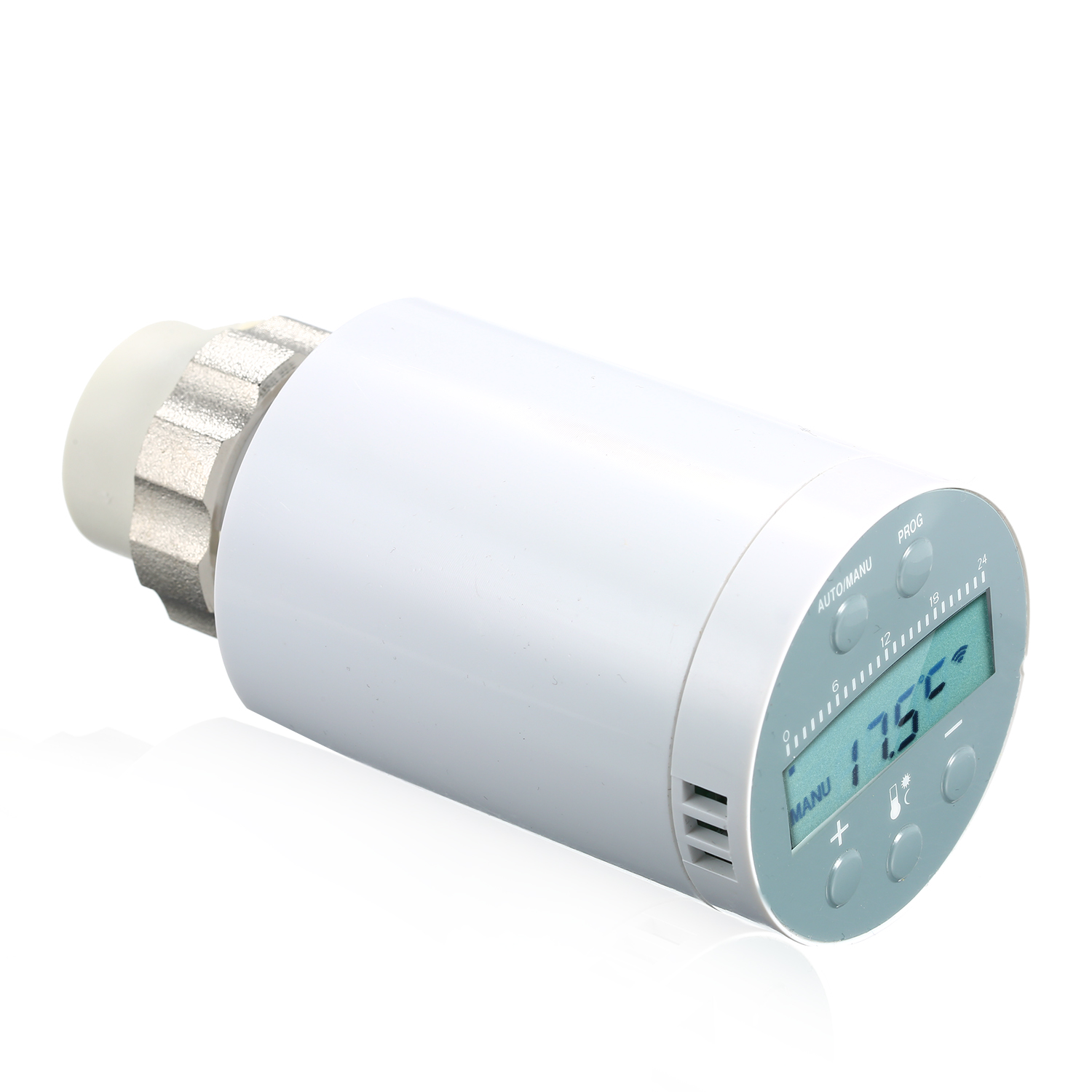 SEA801-APP Thermostat Temperature Controller Heating And Accurate TRV Thermostatic Radiator Valve Programmable Voice Controller