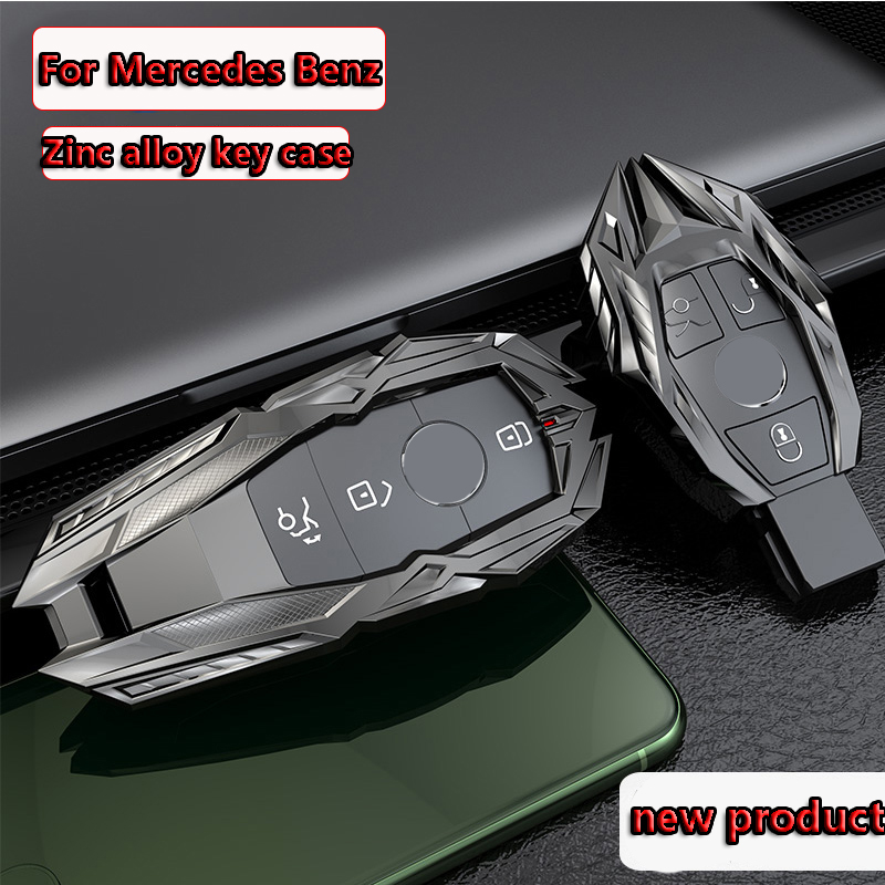 Car Key Cover shell Case For Mercedes Benz AMG A C E S series E200L E300L C260L S320L GLK a200l glc E260 W204 W212 W176 CLA GLA