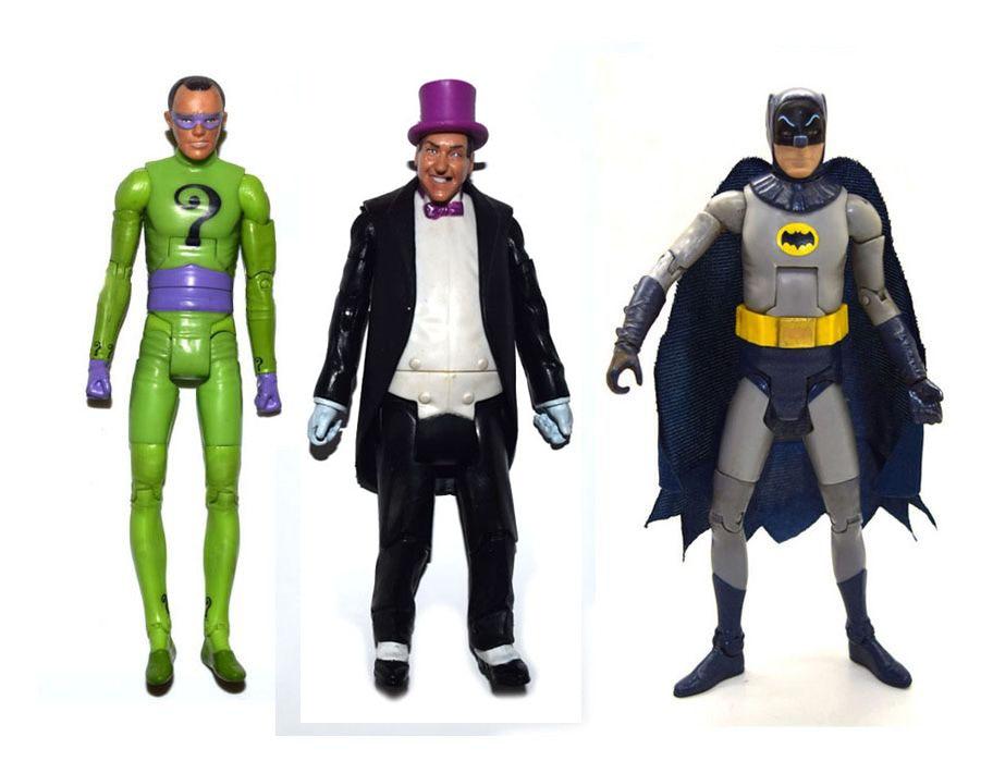 DC Fisher Price Imaginext Batman Riddler Loose Action Figure