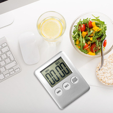 Digital Timer Gadget Clock Studying Cooking Kitchen Count-Down Portable Alarm Mini New