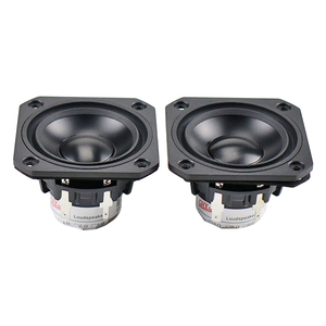 Image 3 - GHXAMP 2.5 inch Full Range Speaker Unit 4ohm 15W Neodymium Ceramic Alumina Full frequency Loudspeaker Bluetooth Speaker DIY 2pcs